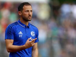 Domencio Tedesco startet in seine erste Saison als Schalke-Trainer