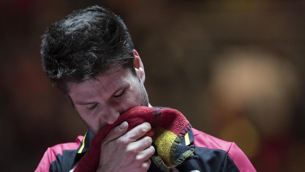 Dimitrij Ovtcharov unterlag Ma Long