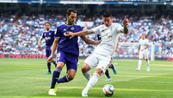Real Madrid und Real Valladolid trennten sich 1:1