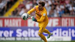 Kevin Trapp ist bei Eintracht Frankfurt wieder ins Training eingestiegen