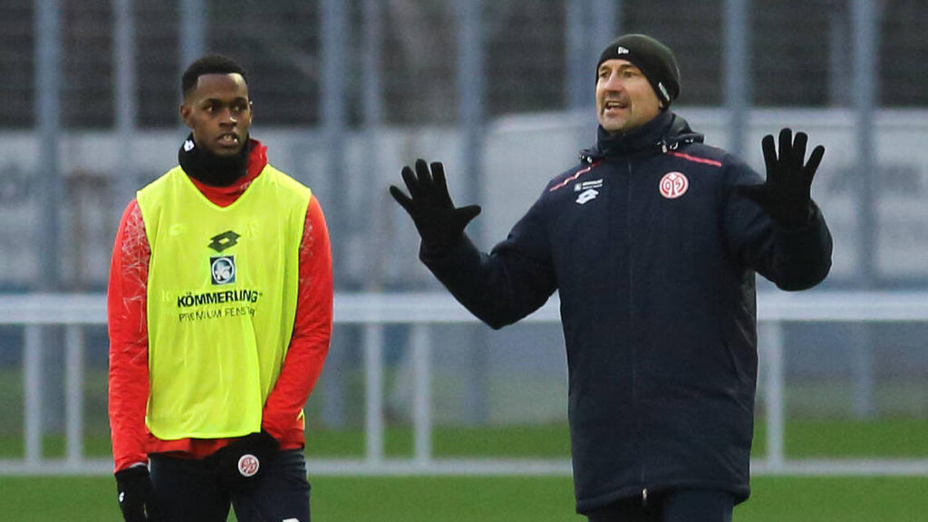 Edimilson Fernandes (l.) fehlt dem FSV Mainz 05