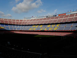 Camp Nou inside