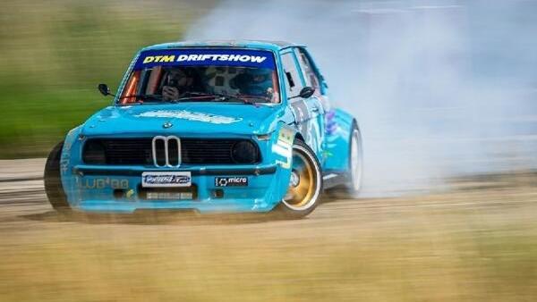 Die neue DTM-Driftshow sorgt für das Showprogramm auf dem Lausitzring
