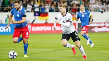 Timo Werner erzielte zwar das 1:0, war ansonsten jedoch weitgehend abgemeldet
