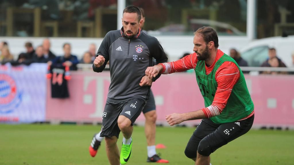 Franck Ribéry und Tom Starke spielten zusammen beim FC Bayern