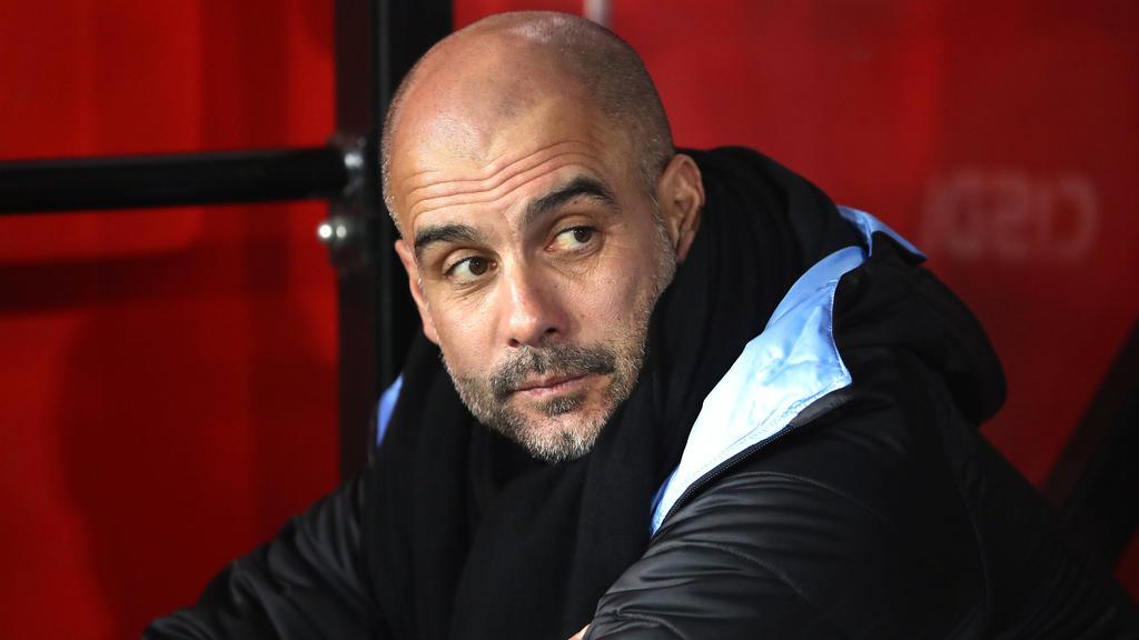 Pep Guardiola und ManCity droht das Champions-League-Aus