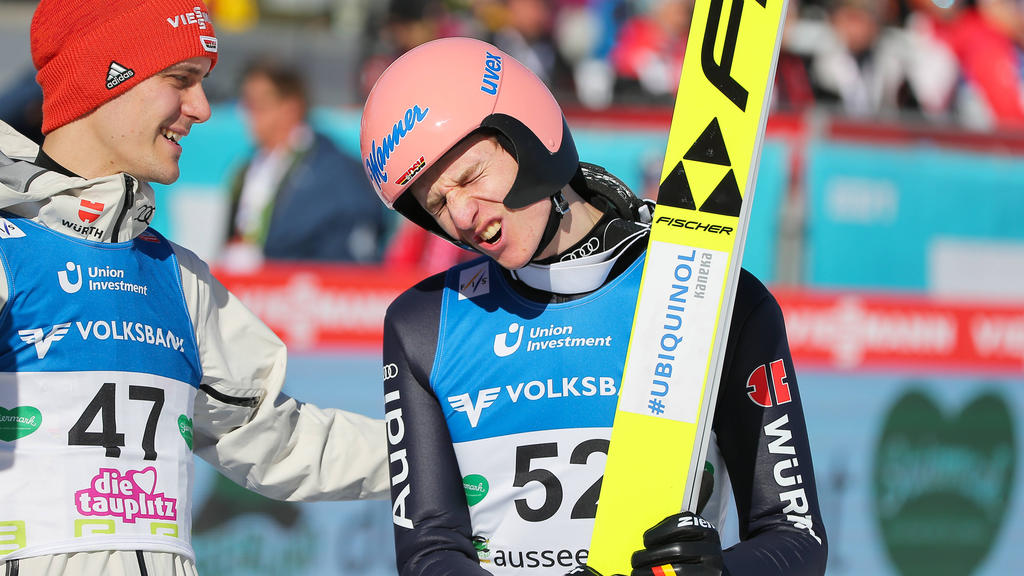 Karl Geiger musste sich am legendären Kolm mit Platz vier zufrieden geben