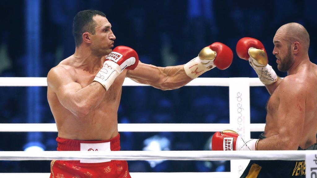 Boxen Fury Klitschko
