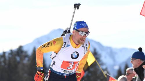 Erik Lesser zeigte starke Leistungen bei der Biathlon-WM