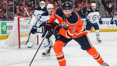 Leon Draisaitl und die Edmonton Oilers musste gegen die Winnipeg Jets eine Niederlage hinnehmen