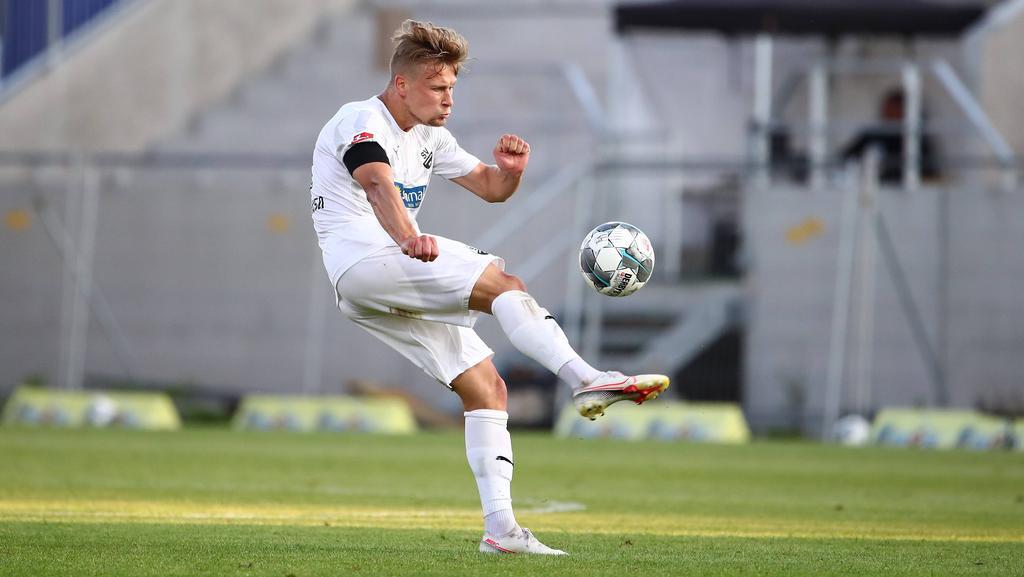 Julius Biada gehörte zu den Torschützen des SV Sandhausen