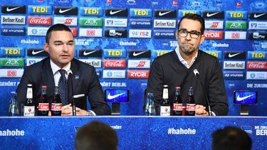 Windhorst und Preetz arbeiten an der Zukunft von Hertha BSC
