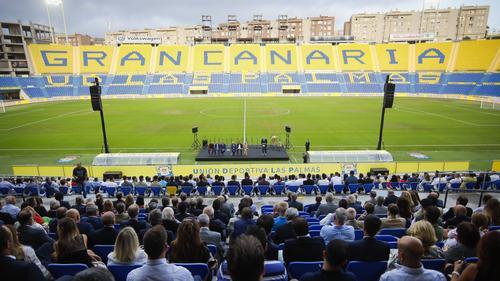 UD Las Palmas hofft auf die Rückkehr der Fans