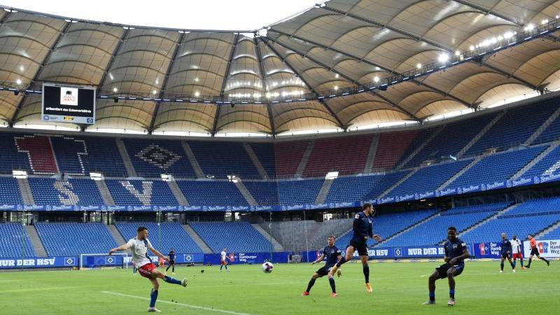 Die Zuschauerränge werden auch beim HSV-Spiel gegen Fortuna Düsseldorf leer bleiben