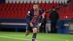 Kilian Mbappé war gegen Nantes erfolgreich