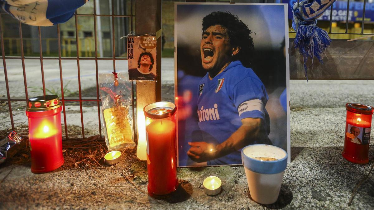 Diego Maradona wird am Donnerstag beerdigt