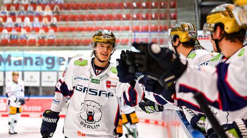 Die Eisbären Berlin siegten gegen die Kölner Haie