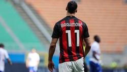 Zlatan Ibrahimovic bleibt der AC Mailand wohl treu