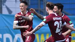 Dynamo Dresden könnte am Samstag in die 2. Bundesliga zurückkehren