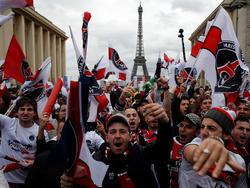 Riesenjubel in der Pariser Innenstadt