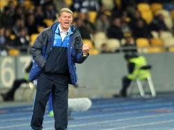 Dynamo-Coach Oleg Blochin hat seine eigene Meinung zu den Protesten in Kiew