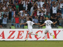 Der FK Qarabağ schockte Salzburg bereits kurz nach dem Anpfiff
