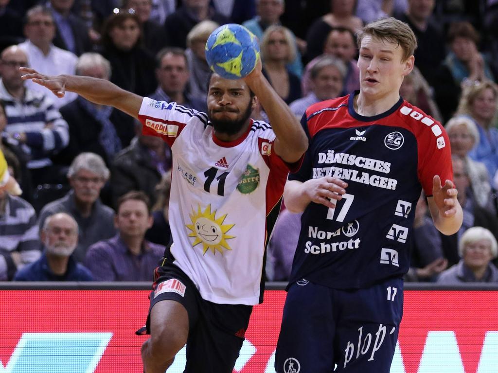 Michael Nicolaisen (r.) wechselt auf Leihbasis zu Handball Tirol