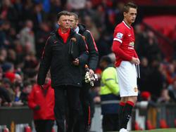 Stand in Manchester mit dem Rücken zur Wand: Adnan Januzaj (r.)