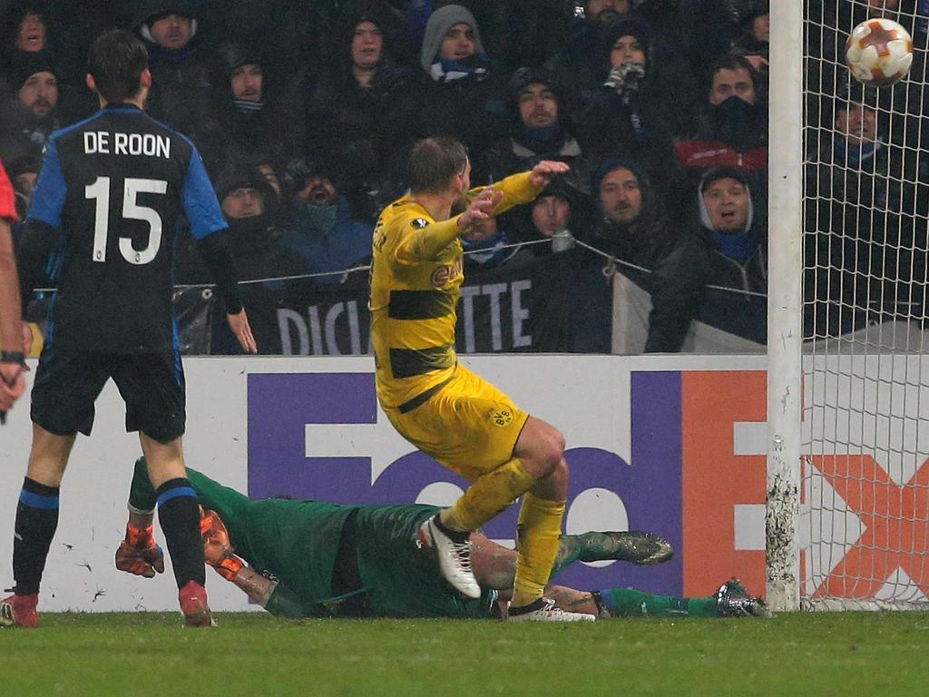 Borussia Dortmund zittert sich ins Achtelfinale der Europa League
