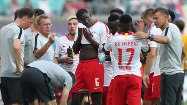 RB Leipzig hat sich in die nächste Runde gekämpft