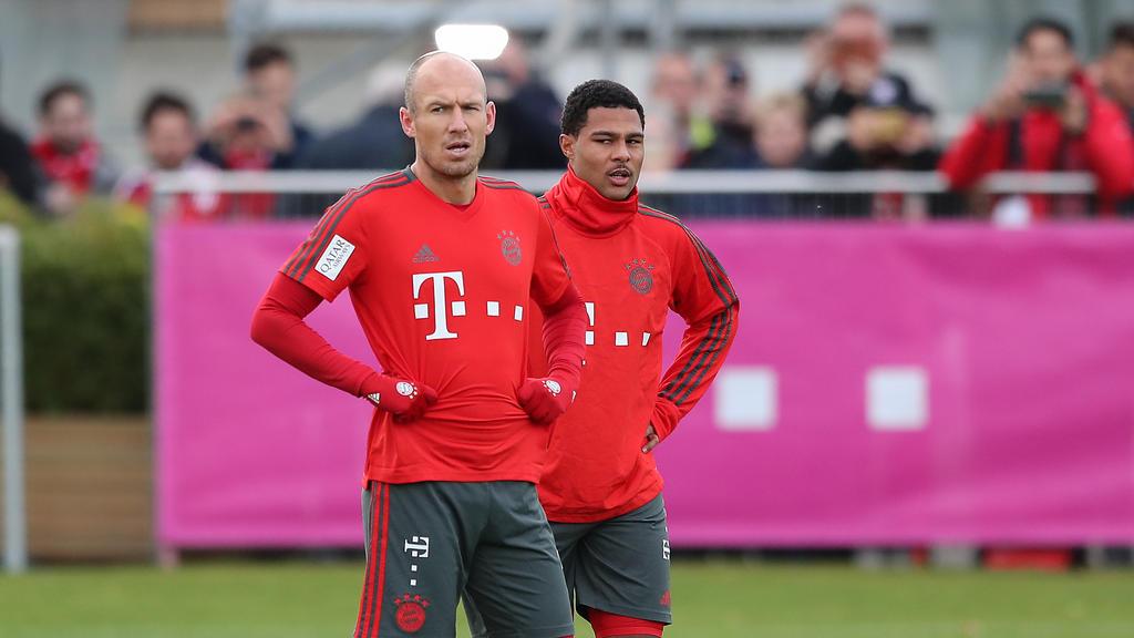 Arjen Robben fehlt FC Bayern wohl gegen den 1. FC Nürnberg