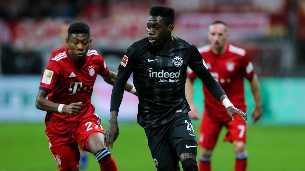 Der Vertrag von Danny da Costa bei Eintracht Frankfurt läuft noch bis Sommer 2022