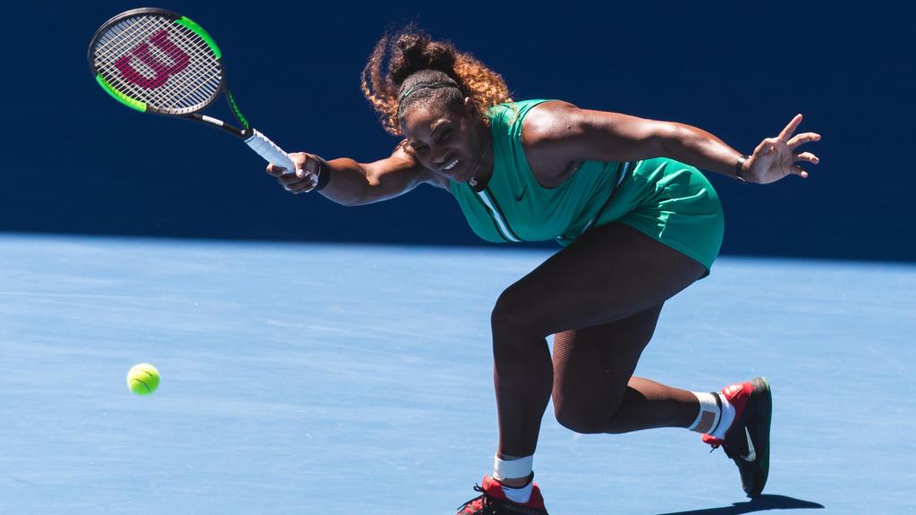 Serena Williams machte in der 3. Runde kurzen Prozess