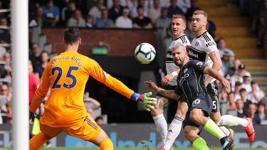 Agüero erzielte das 2:0 für Manchester City beim FC Fulham