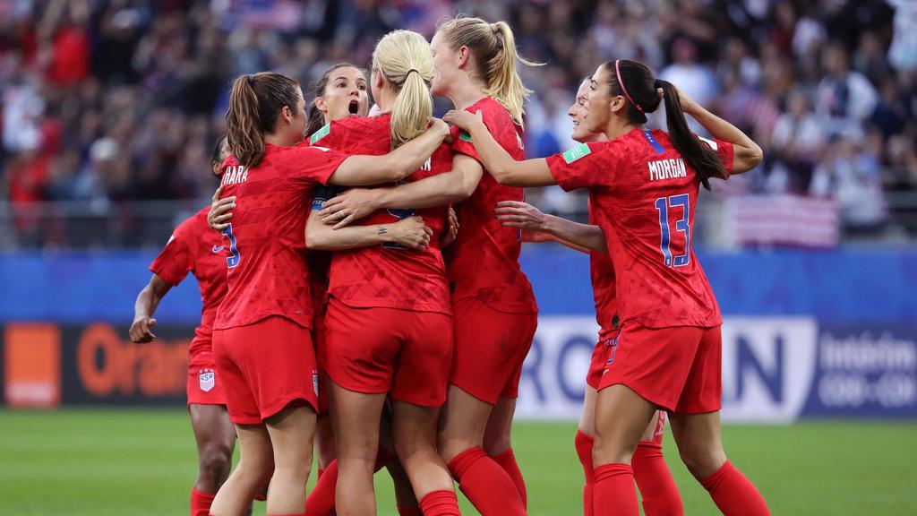 Die USA feierten einen Kantersieg gegen Thailand