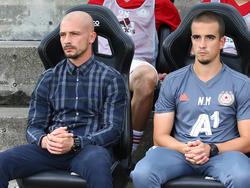 Die Gebrüder El Maestro, die früher einmal Jevtić hießen. Nestor (l.) und Nikon (r.)