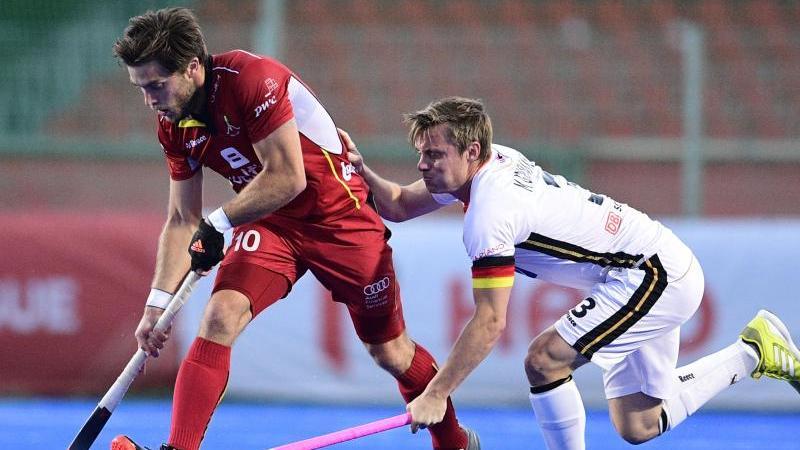 Die deutschen Hockey-Herren wurden von Belgien vorgeführt