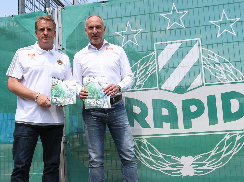Rapid muss sich aus finanzieller Sicht noch länger mit dem Duo Büskens/Müller befassen