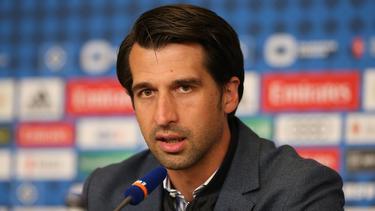 Jonas Boldt ist seit Mai Sportvorstand beim HSV