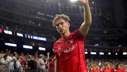 Leon Goretzka ist mit seiner ersten Saison beim FC Bayern zufrieden