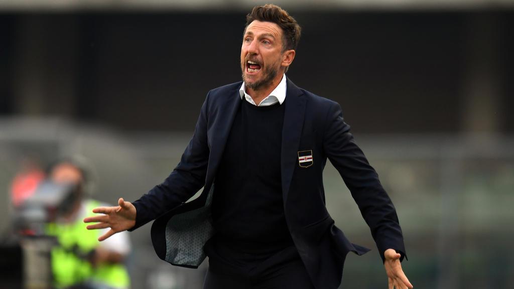Eusebio Di Francesco ist nicht mehr Sampdoria-Coach