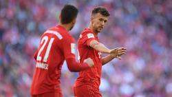 Ivan Perisic (re.) möchte gern beim FC Bayern bleiben