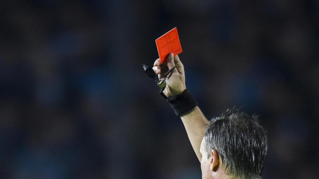 Ein Schiedsrichter wurde in einem Kreisligaspiel angegriffen