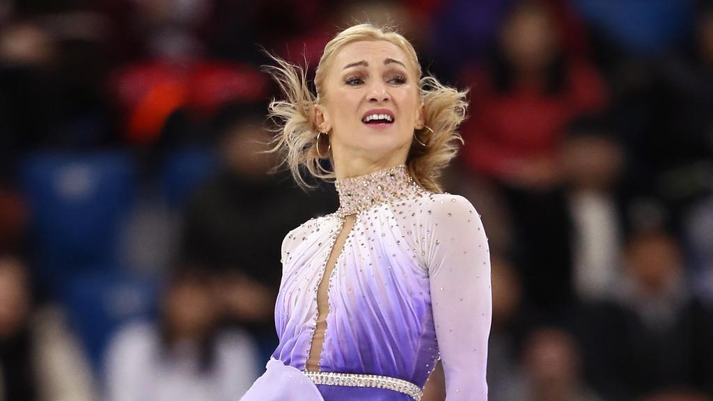 Aljona Savchenko wurde im Paarlauf Olympiasiegerin