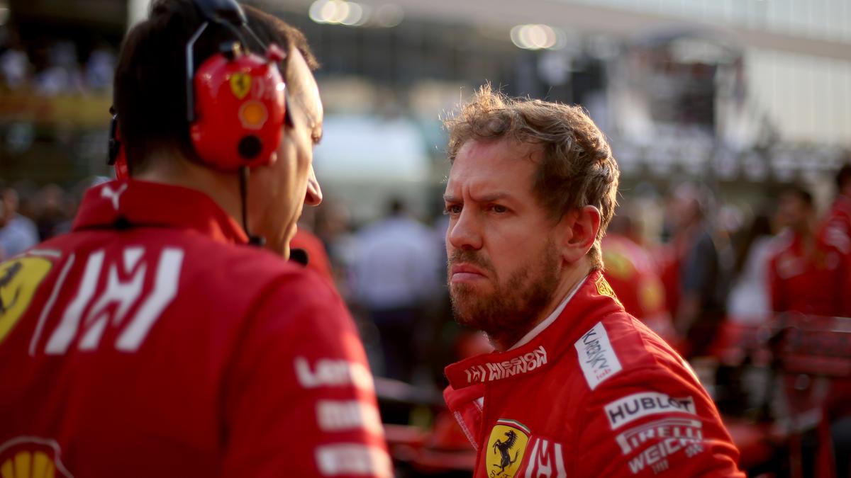 Die Saison endete für Sebastian Vettel mit einem fünften Platz