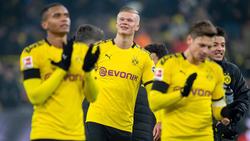 Erling Haaland verzückt die BVB-Fans - und seine Mitspieler