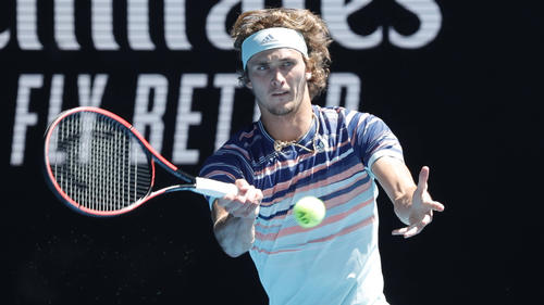 Alexander Zverev bleibt nach seinem Halbfinaleinzug bei sich
