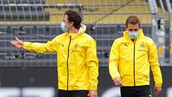 Thomas Delaney (l.) fehlt dem BVB verletzt