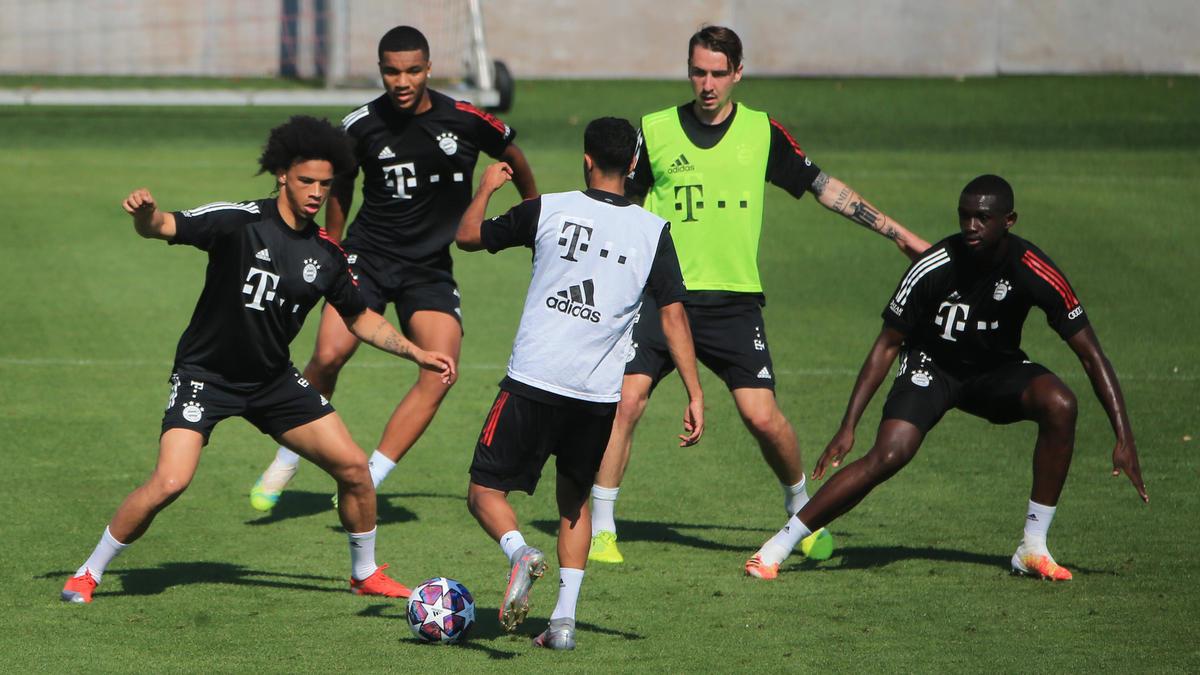 Kam bei einem Trainingsspiel des FC Bayern zum Einsatz: Neuzugang Leroy Sané