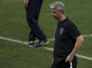 Tiago Nunes abandona la disciplina de Corinthians.